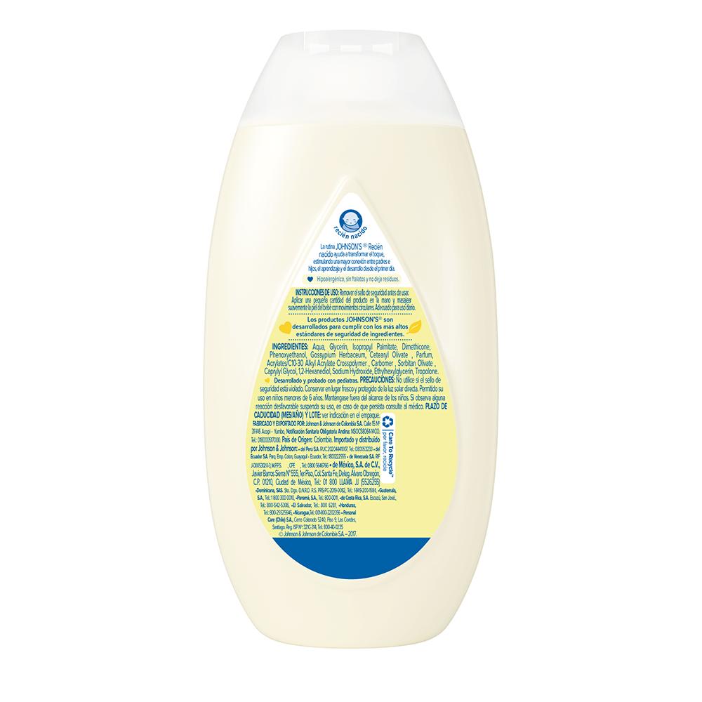 Crema hidratante recién back