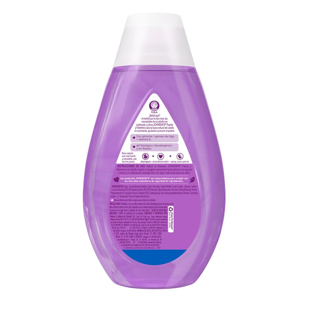 Shampoo fuerza y vitamina back