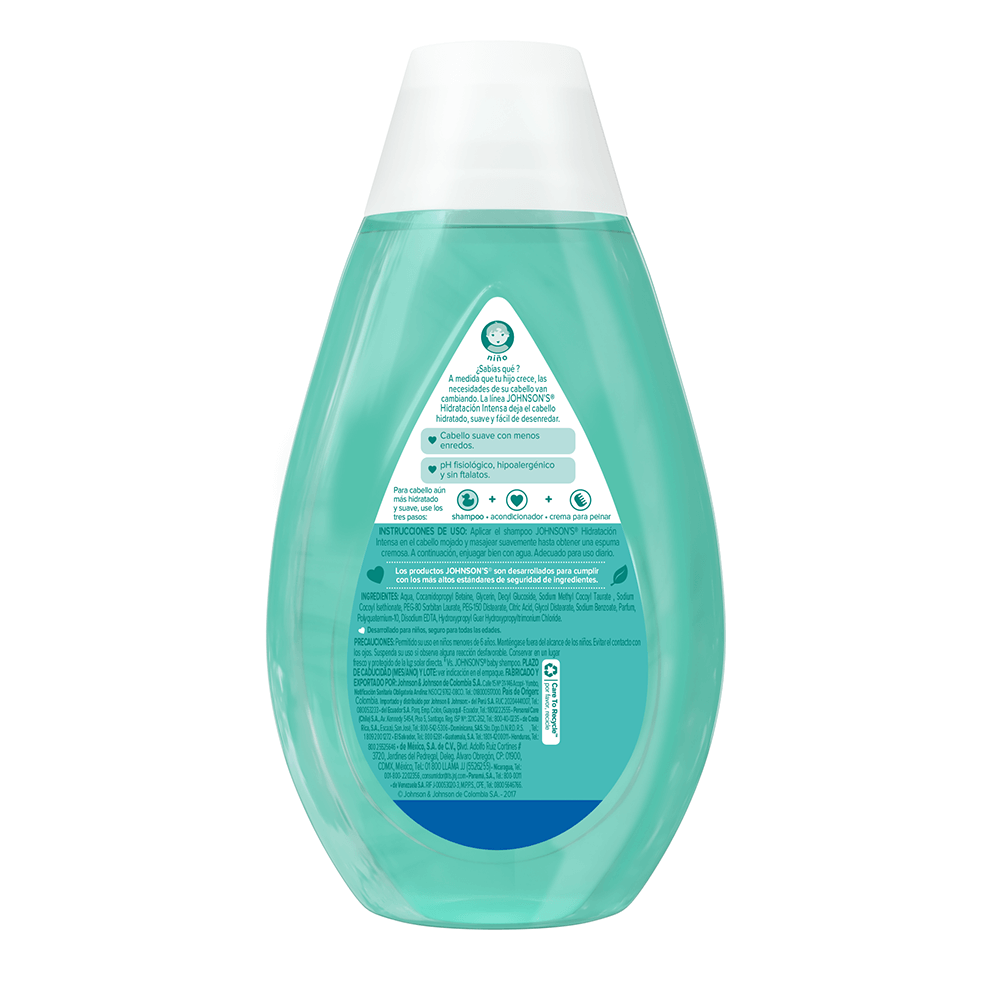 Shampoo hidratación intensa back