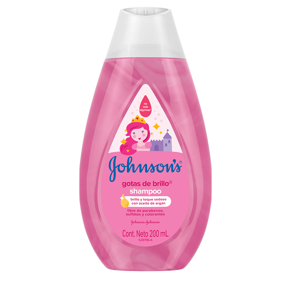 JOHNSON'S® baby shampoo gotas de brillo