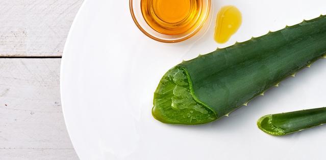 Ingredientes naturales avena y aceite