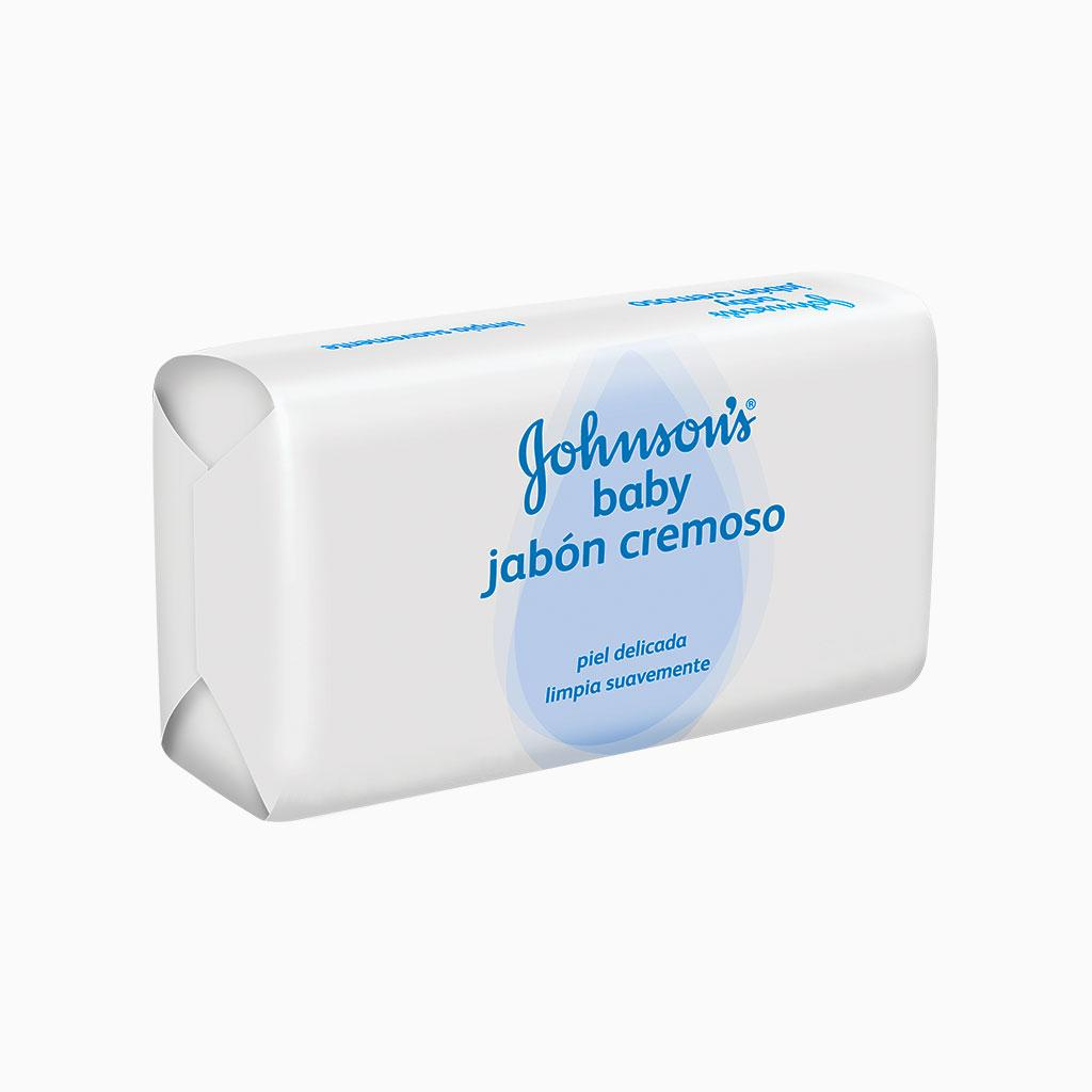 JOHNSON'S® baby jabón cremoso en barra con avena natural