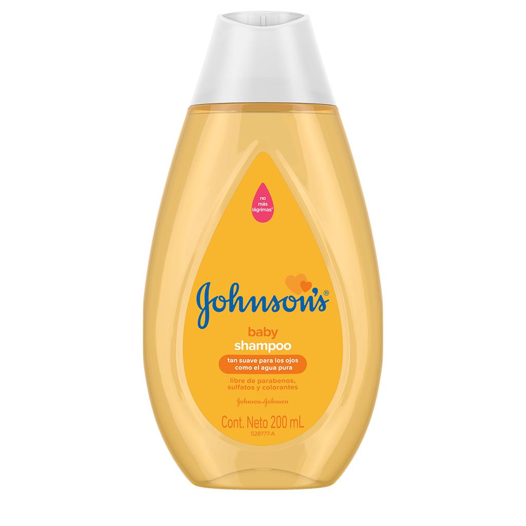 JOHNSON'S® baby shampoo suavidad para los ojos y el cabello